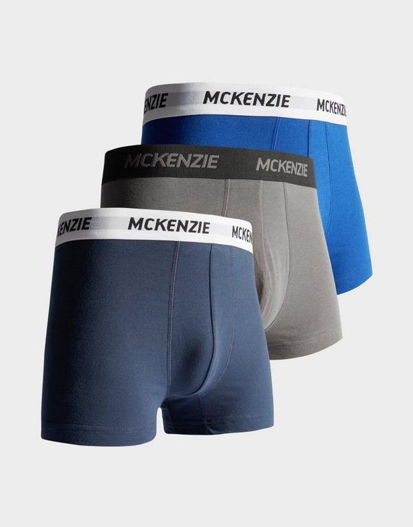 McKenzie Pack de 3 boxers Homme