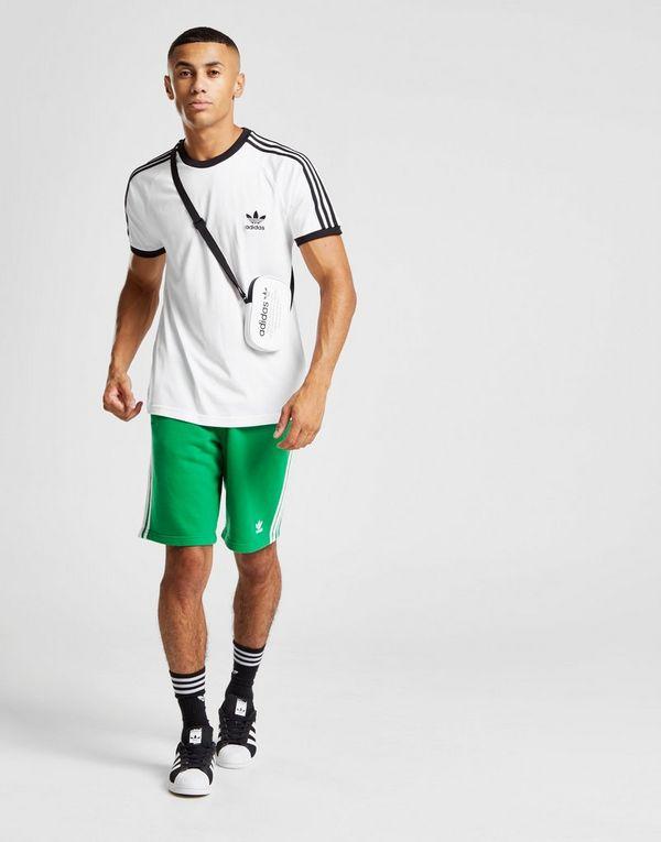 fee3babf5 adidas Originals 3-Stripes California Short Sleeve T-Shirt | JD Sports