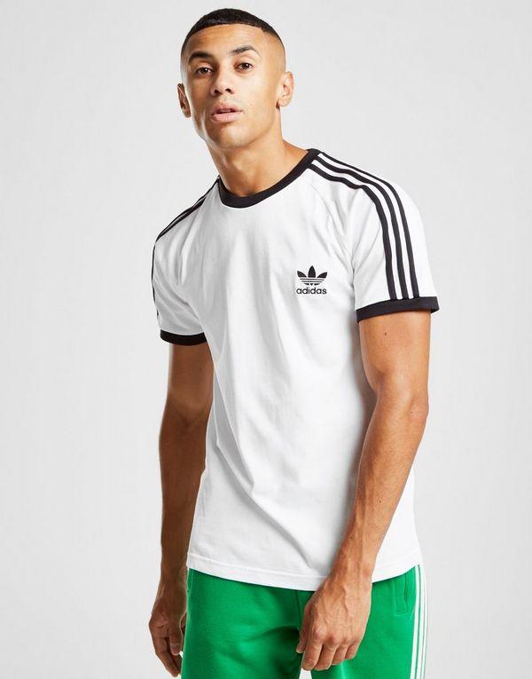 check out 260db e924e adidas Originals 3-Stripes California Short Sleeve T-Shirt