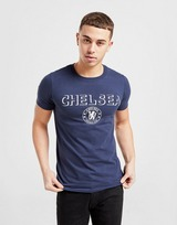 Official Team Chelsea FC Badge T-Shirt Herren