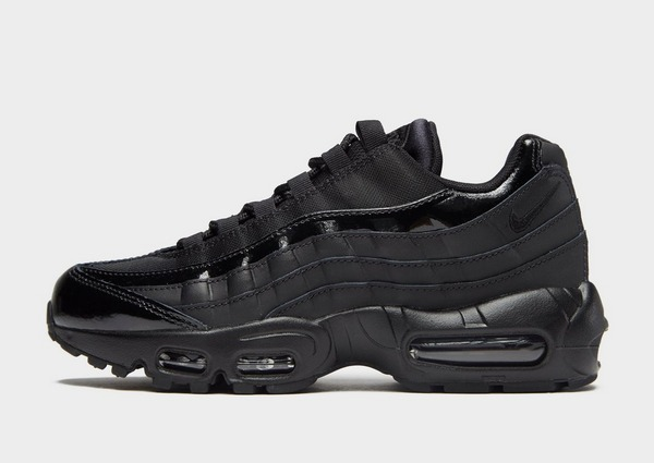 nike 95 air max womans black and white
