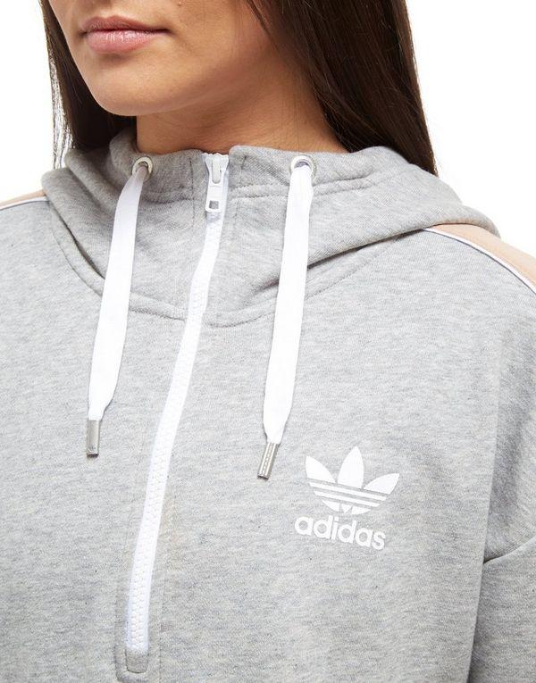 adidas Originals Linear 12 Zip Hoodie | JD Sports