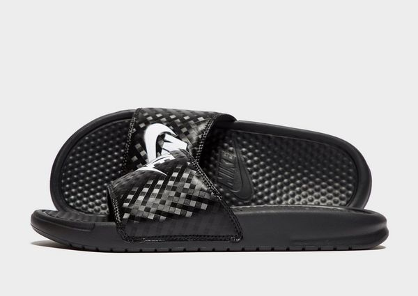 quality design 1c9e9 204ab Nike Benassi Just Do It Slides Women s   JD Sports
