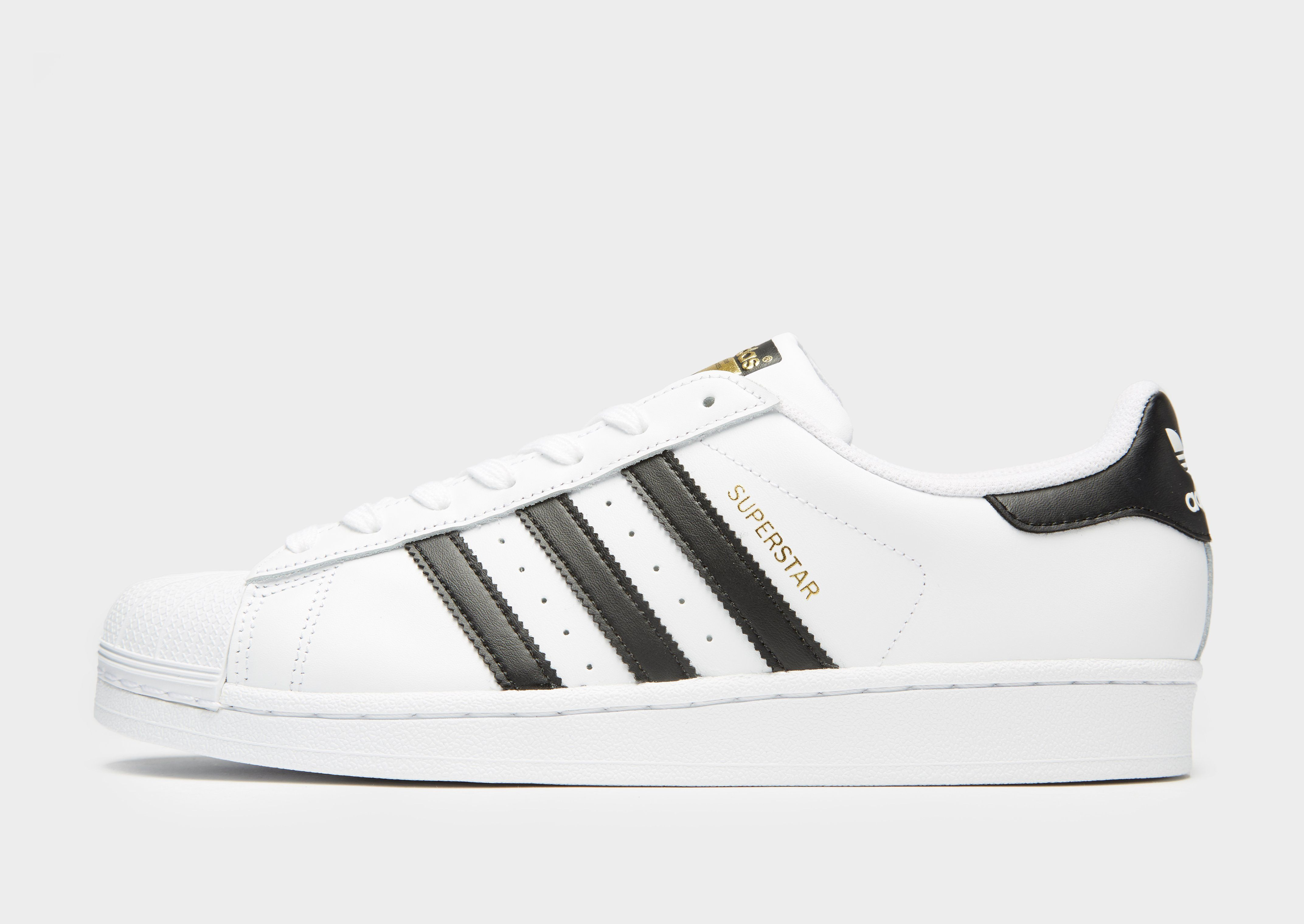 Superstar Leather Chaussures Adidas Originals Triple Face