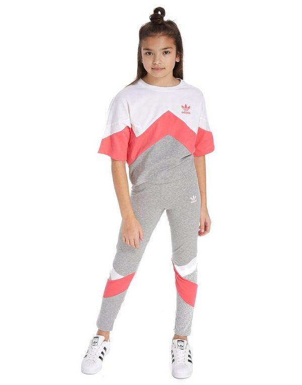 7616ae80e adidas Originals Girls' MOA Crop T-Shirt Junior | JD Sports