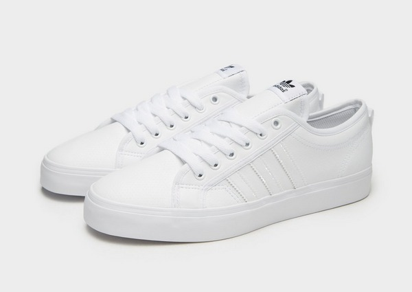 Buy White adidas Originals Nizza Lo | JD Sports