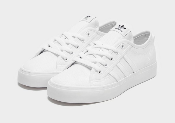 Compra adidas Originals Nizza Lo júnior en Blanco | JD Sports