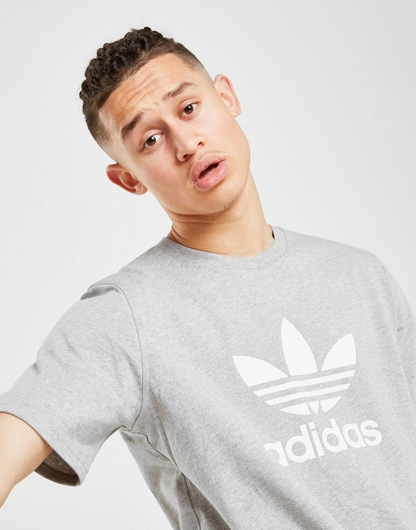 adidas Originals Trefoil State T Shirt Heren | JD Sports