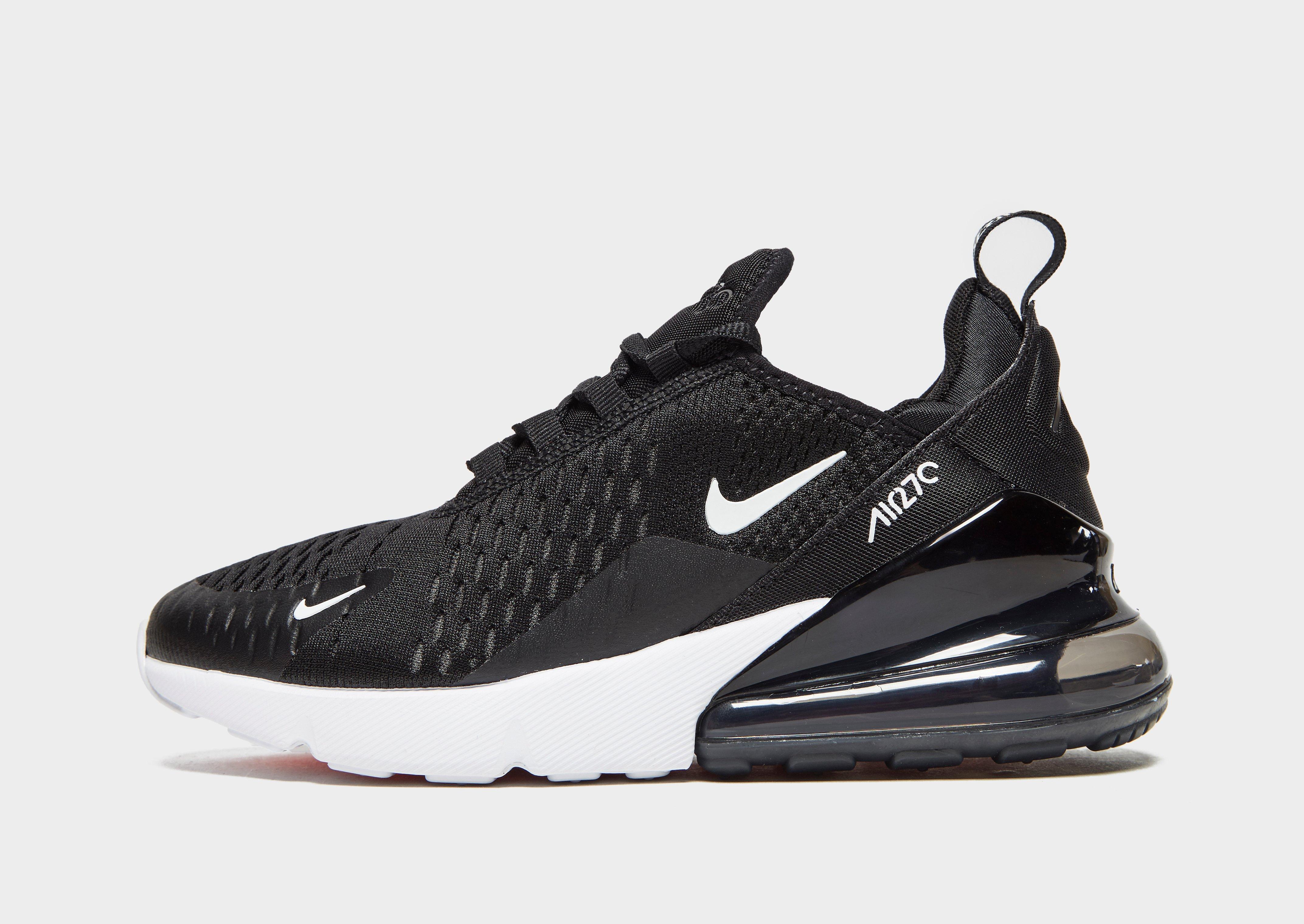 Buy Black Nike Air Max 270 Junior | JD