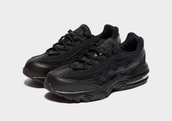 Shoppa Nike Air Max 95 Barn i en Svart färg | JD Sports Sverige