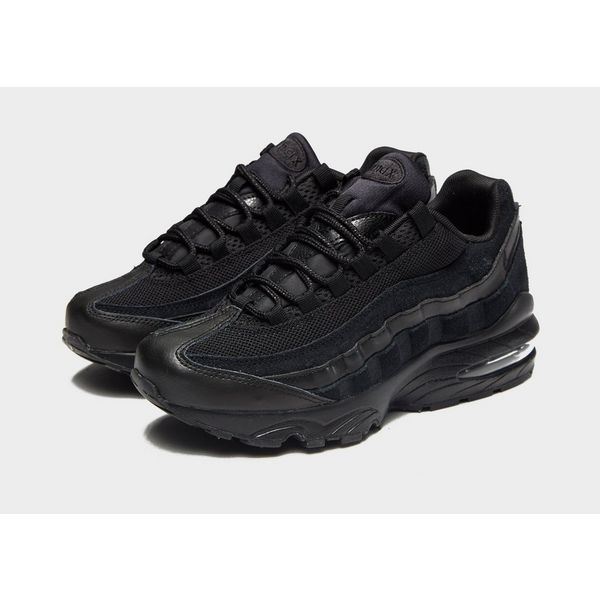 all black air max 95s