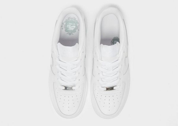 air force 1 junior white and black low