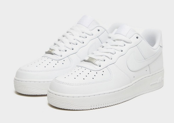 Shoppa Nike Air Force 1 Low Herr i en Vit färg | JD Sports
