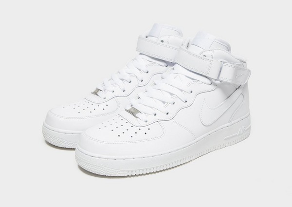 Koop Wit Nike Air Force 1 Mid Heren