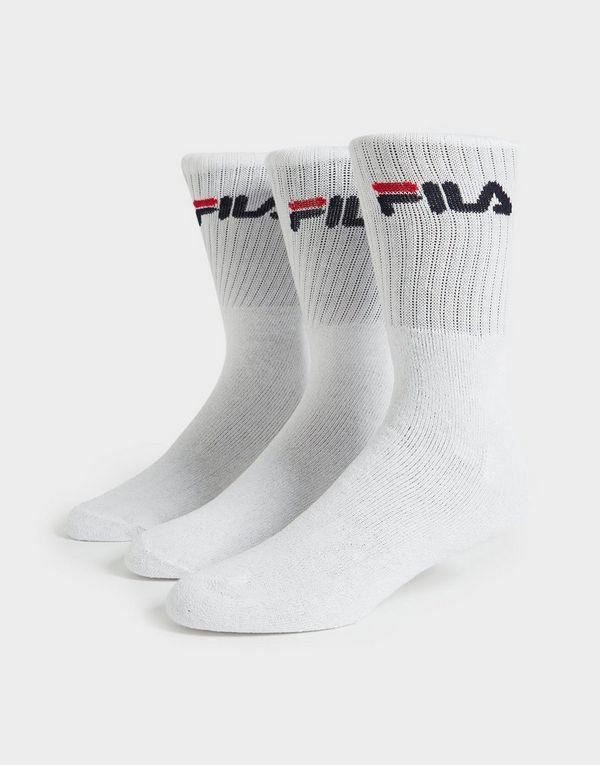 Fila 3 Pack Crew Sports Socks | JD Sports