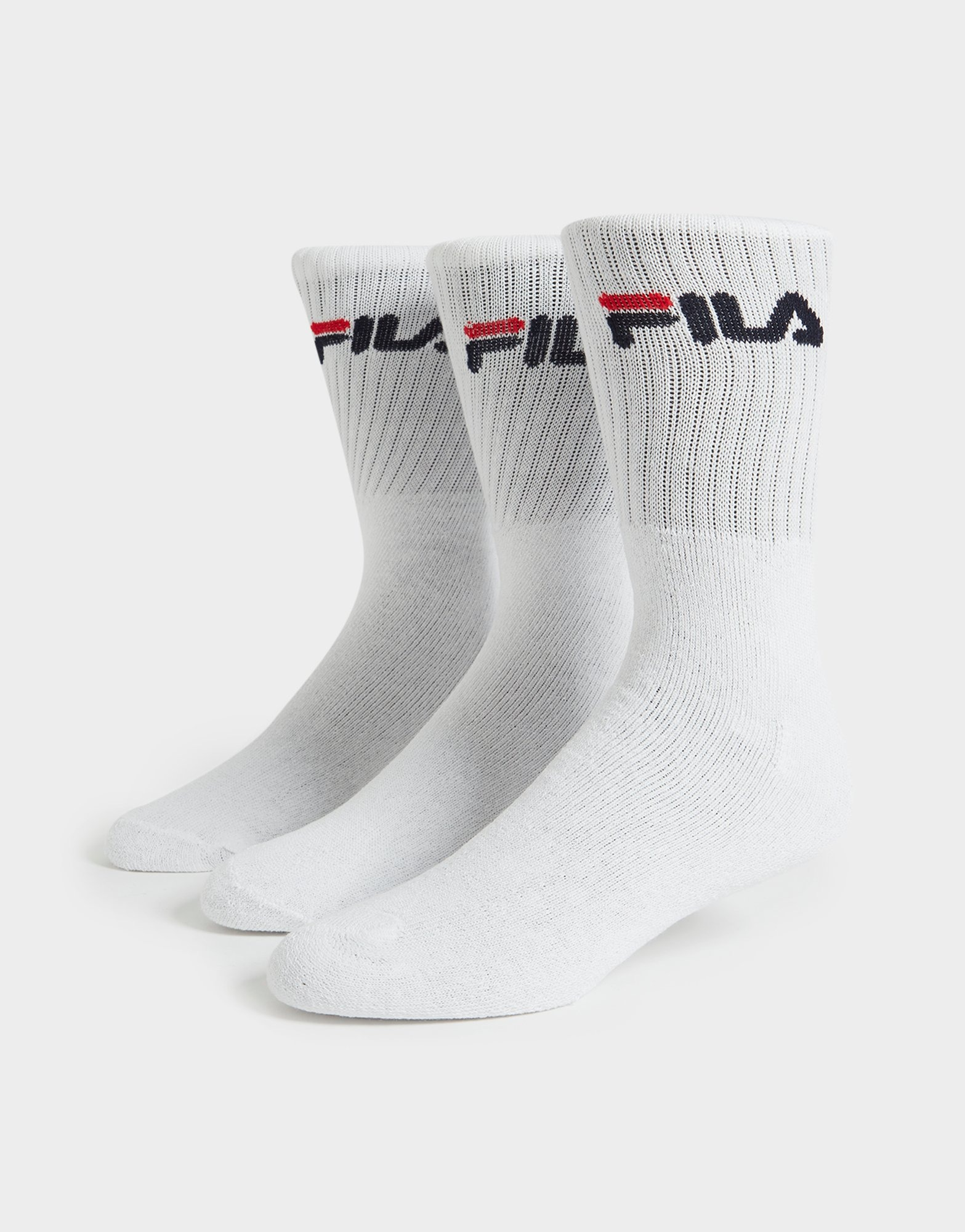 Fila 3 Pack Crew Sports Socks JD Sports  JD Sports