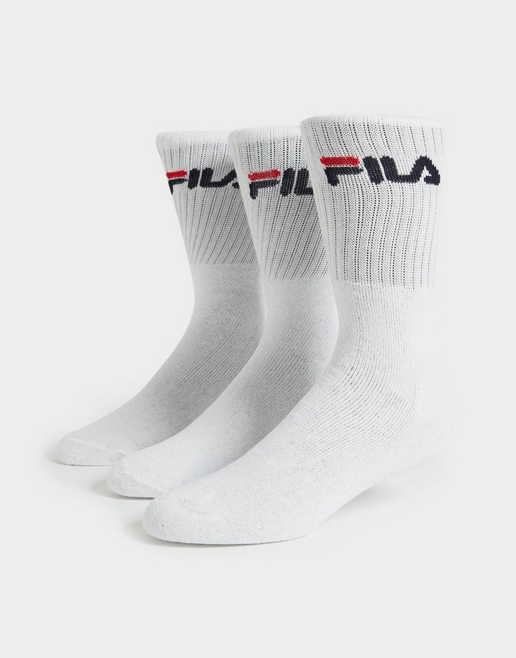 Fila 3 Pack Crew Sports Socken