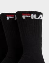 Fila Lot de 3 paires de chaussettes Crew Sports