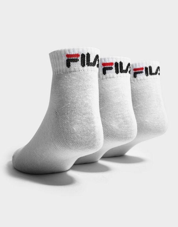 b542a862fb868 Fila 3-Pack Quarter Sport Socks | JD Sports