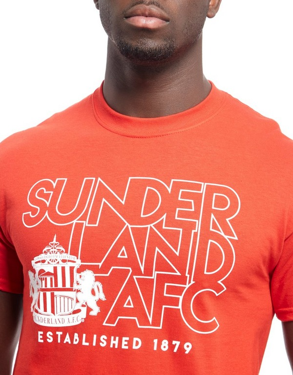 Official Team Sunderland AFC T-Shirt