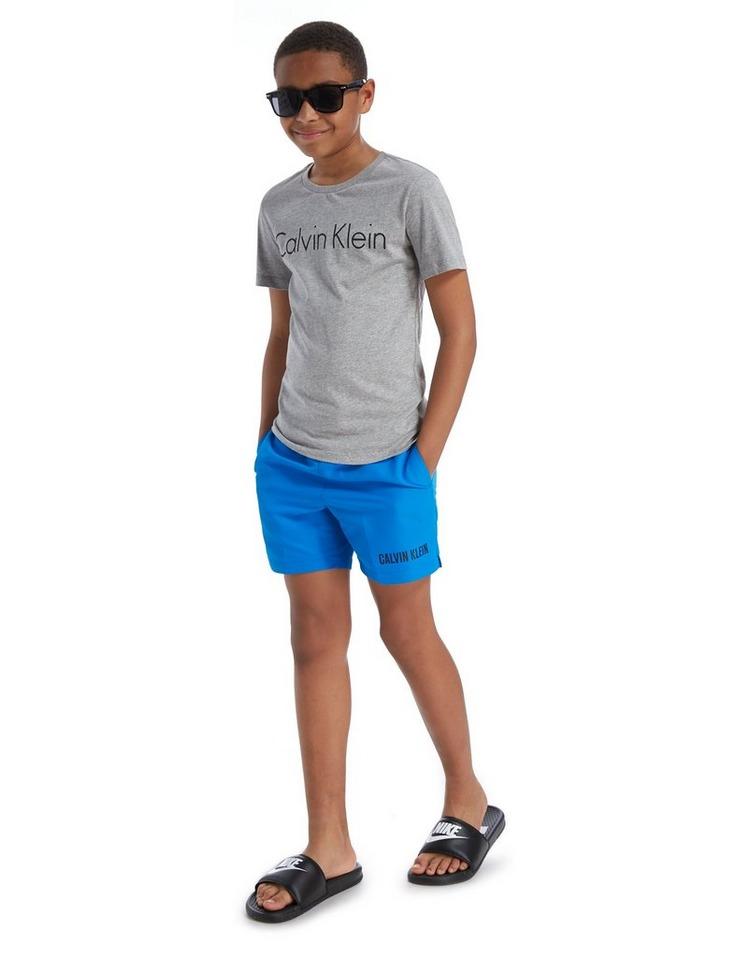 Calvin Klein Waistband Swim Shorts Junior
