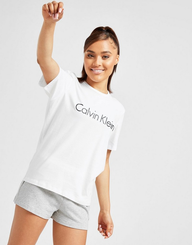 Calvin Klein Logo Short Sleeve Lounge T-Shirt