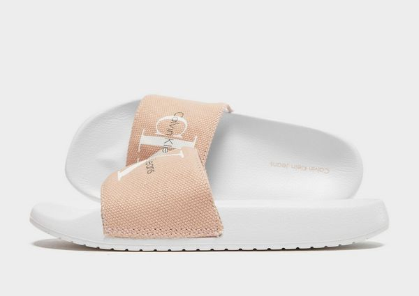 ad41b4caa617d Calvin Klein Jeans Chantal Slides Women's | JD Sports