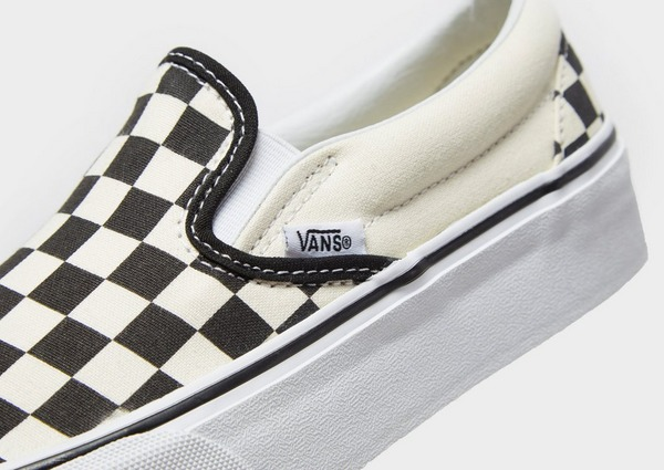 Para llevar Seminario extraterrestre  Buy Black Vans Slip-On Platform Women's | JD Sports