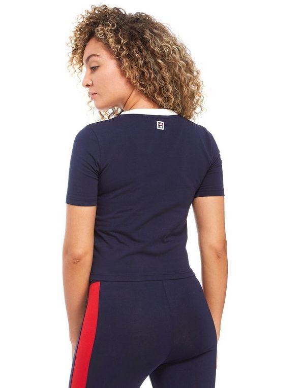 b3ec8d4f043 Fila Logo Crop T-Shirt | JD Sports
