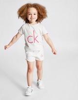 Calvin Klein Girls' Marl T-Shirt Children