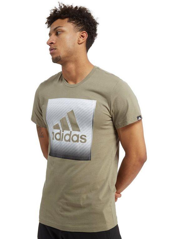 cdd1a4472c680 adidas Faded Box Logo T-Shirt