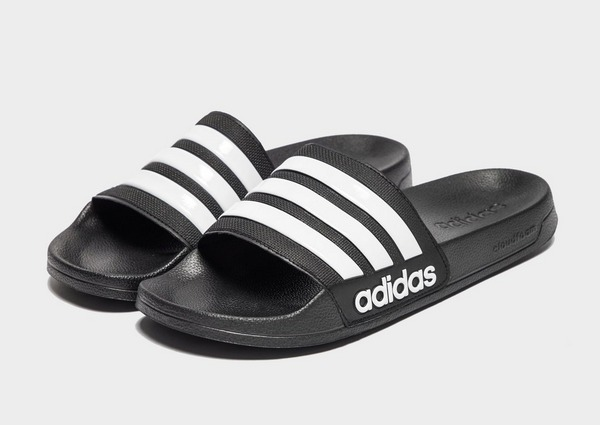 Tofflor Adidas Adilette Cloudfoam Black | MonkeySports.se