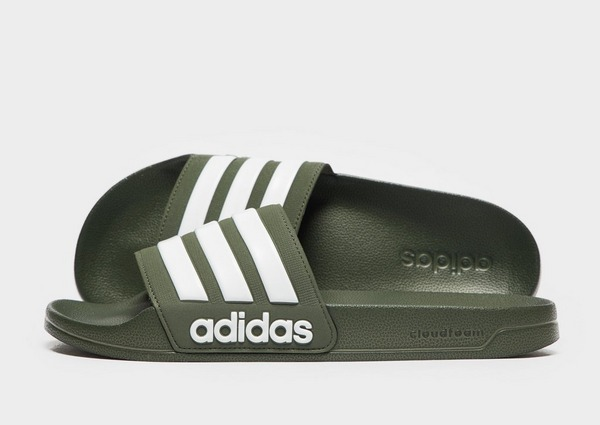 retail prices new arrival best prices adidas Cloudfoam Adilette Slides | JD Sports