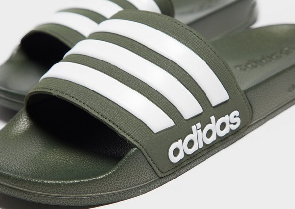 adidas Cloudfoam Adilette Slides Heren | JD Sports