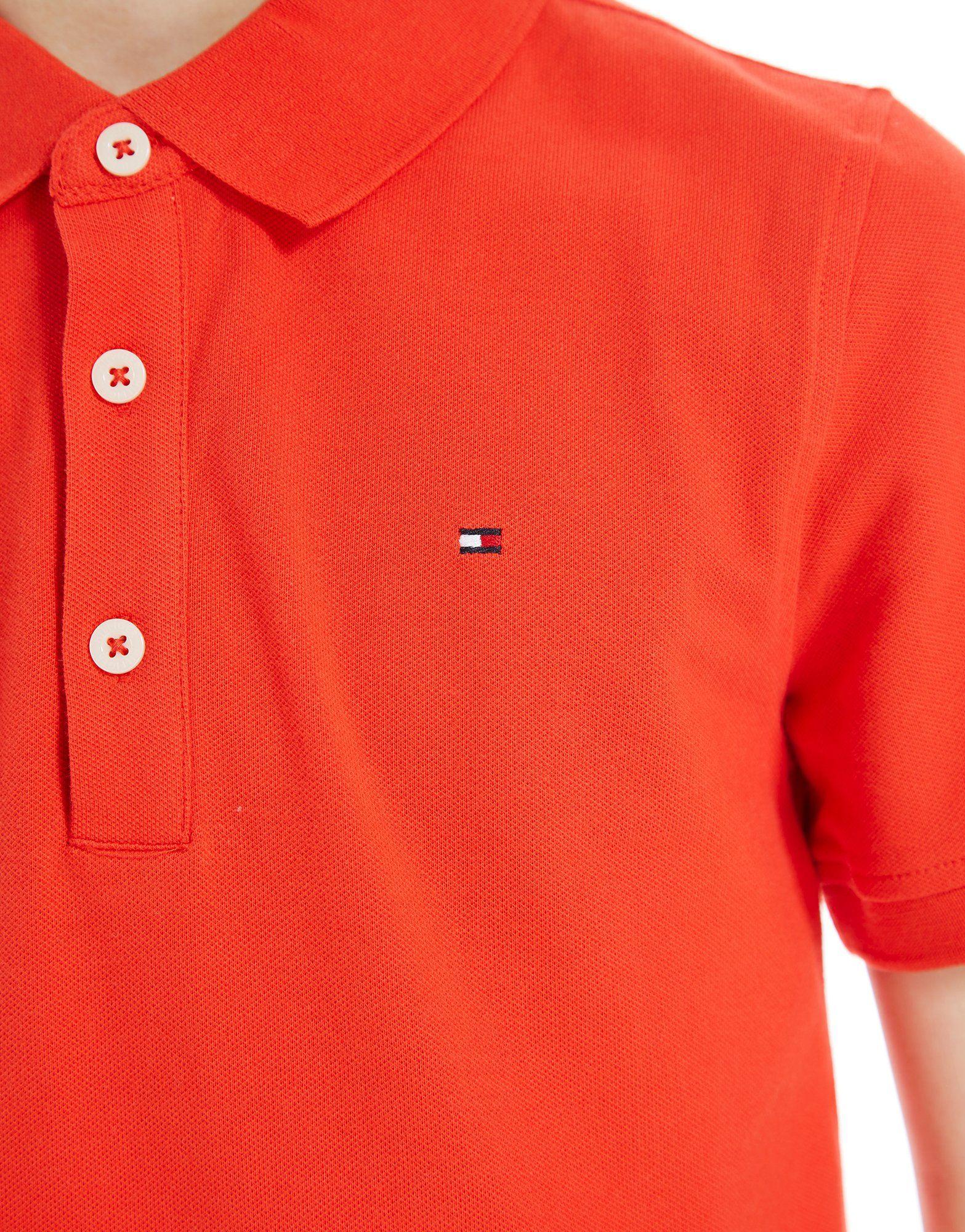 Tommy Hilfiger Small Logo Polo Shirt Junior