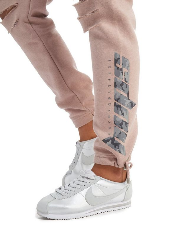 Supply & Demand Camo Tie Joggers