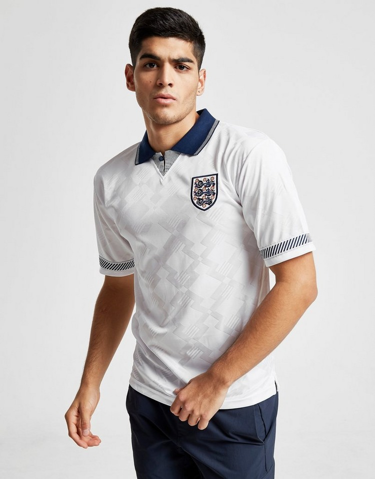 Score Draw England '90 World Cup Home Retro Shirt