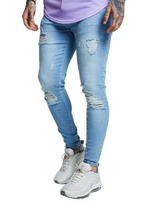 SikSilk Distressed Jeans