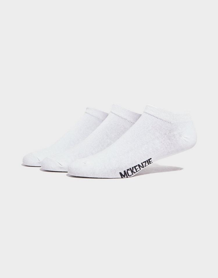 McKenzie 3 Pack Low Ped Socks