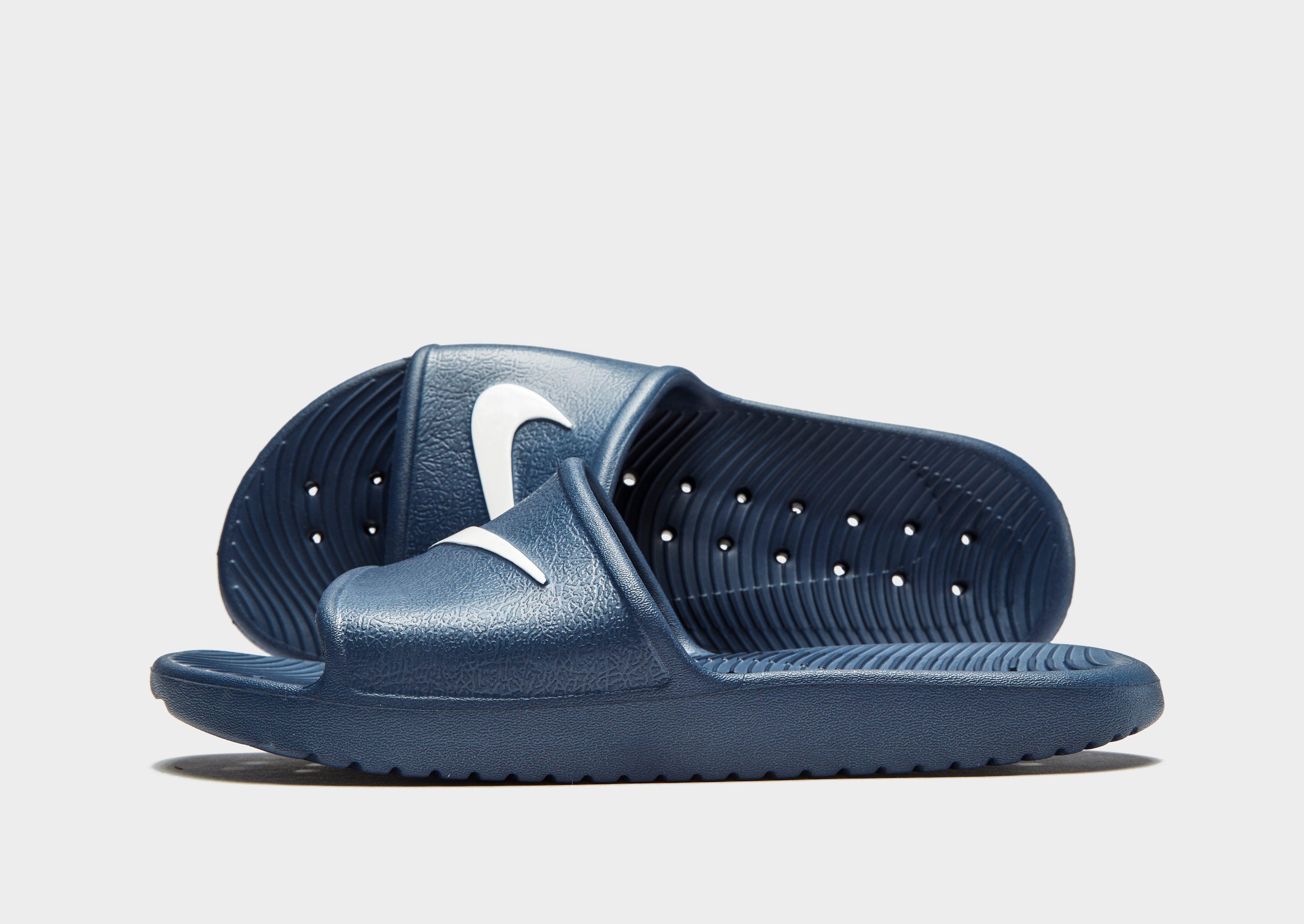 a6c0b27180f Nike Kawa Shower Slides Junior