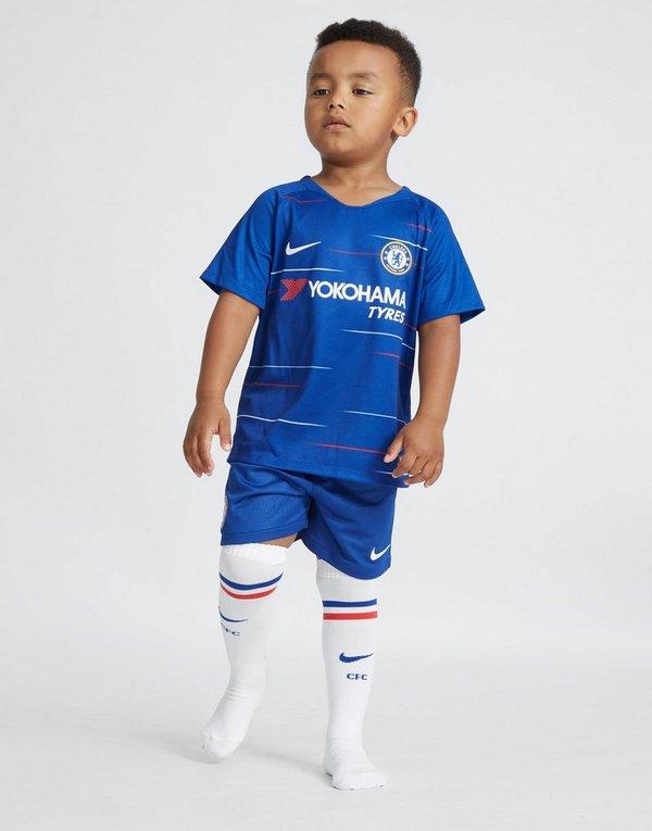 6dbbf276f Nike Chelsea FC 2018/19 Home Kit Children | JD Sports