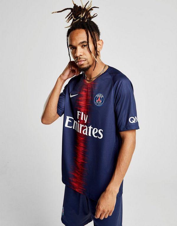 fceb4eb90bc NIKE 2018 19 Paris Saint-Germain Stadium Home Men s Football Shirt ...