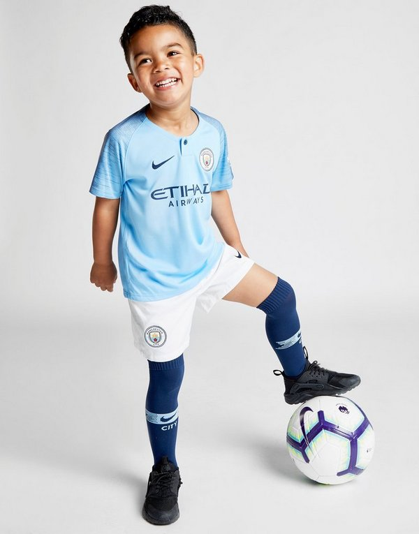 25625b67f Nike Manchester City 18 19 Home Kit Children