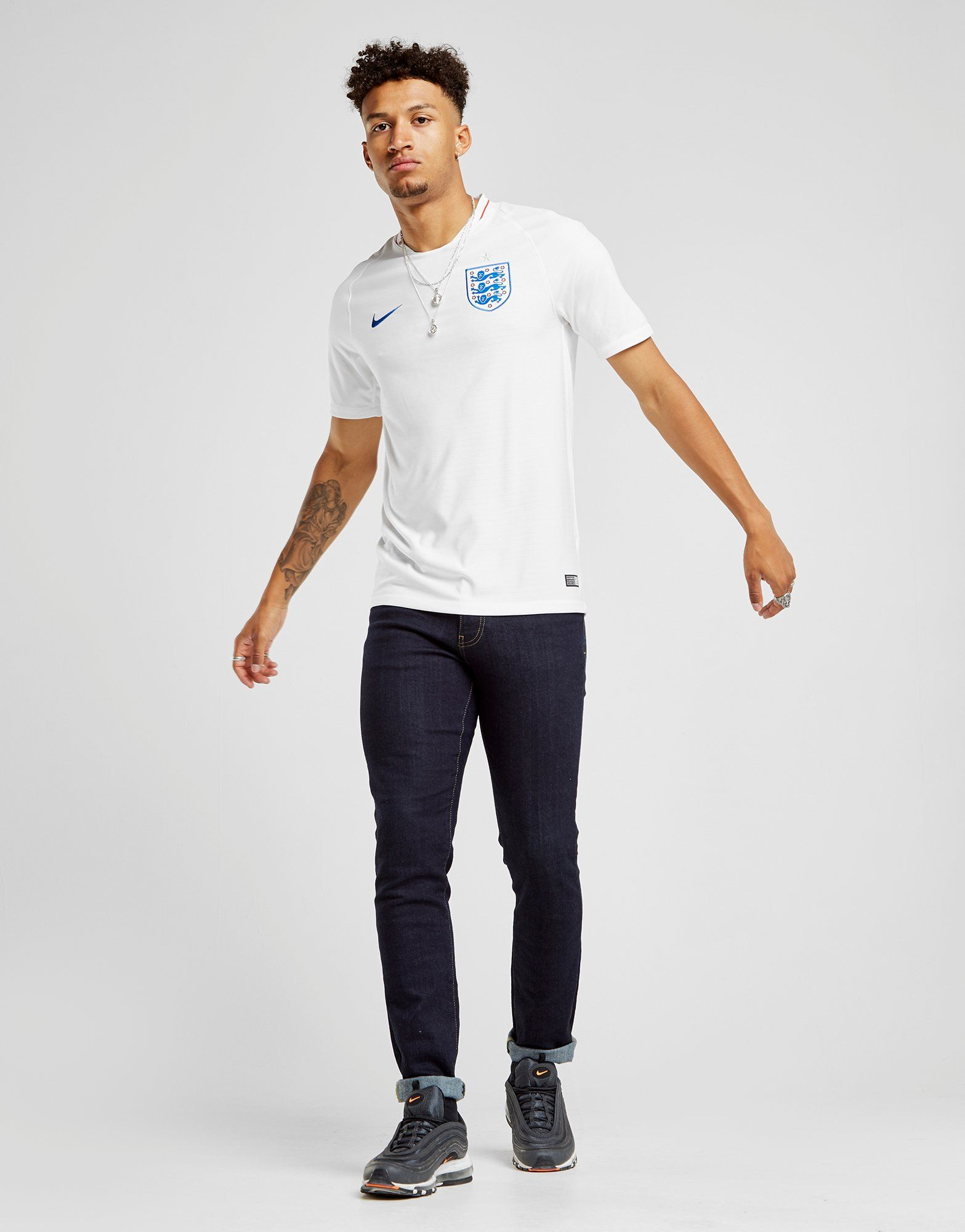 Nike England 2018 Home Shirt