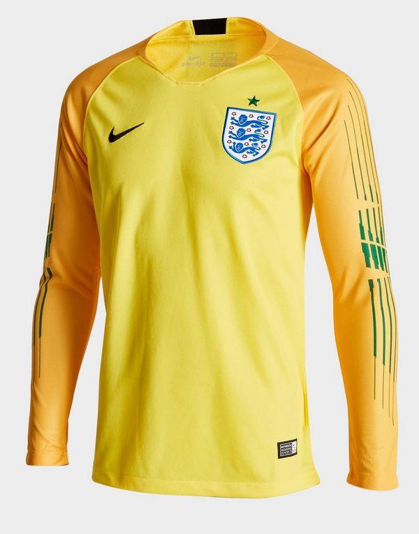 bc4555e14 Nike camiseta de portero Inglaterra 2018 1.ª equipación júnior