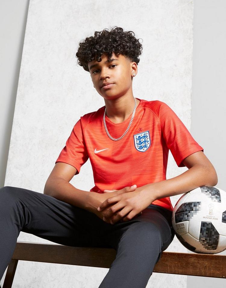 Nike Maillot Extérieur Angleterre 2018 Junior