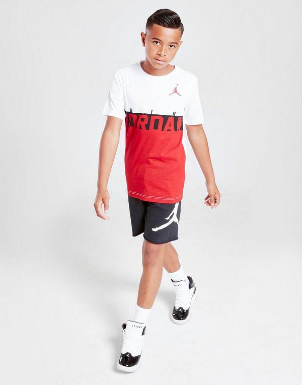 Jordan Colour Block T-Shirt Junior