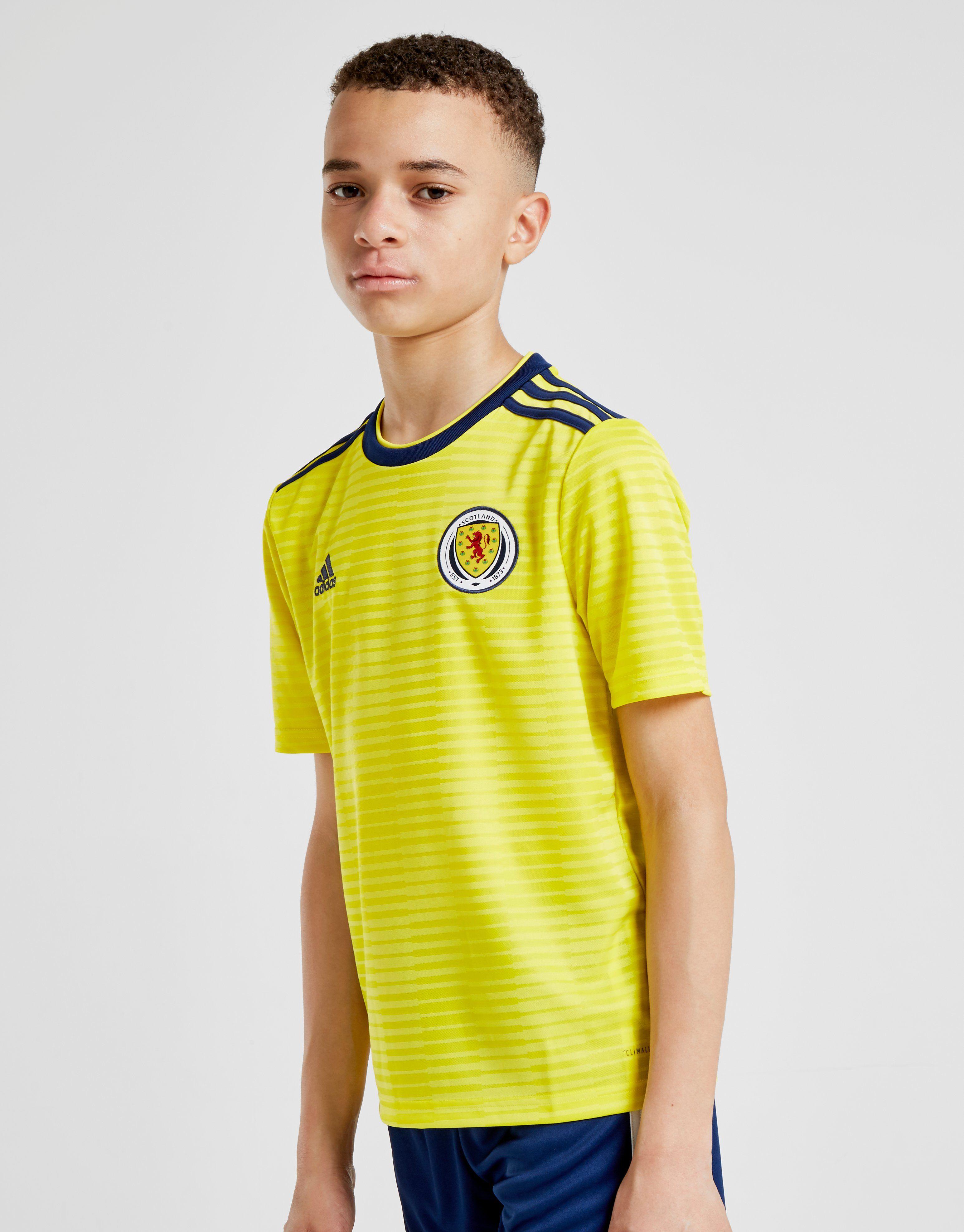 adidas Scotland FA 2018/19 Away Shirt Junior