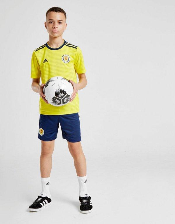 adidas Scotland FA 2018/19 Away Shorts Junior