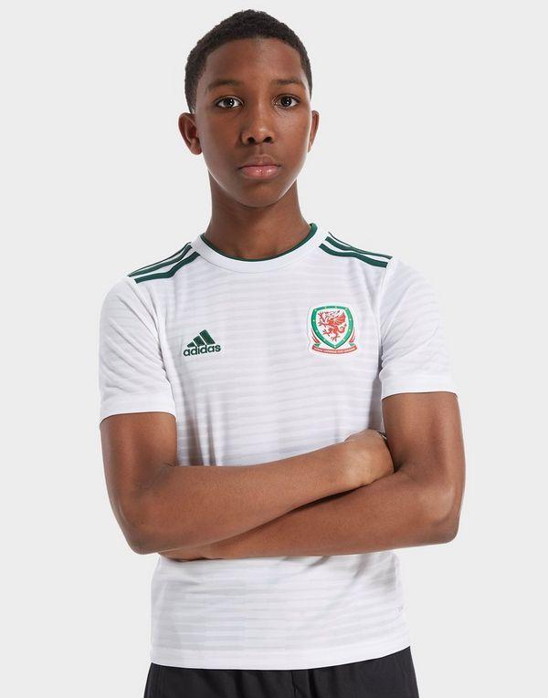 cc613091ee5 adidas Wales 2018/19 Away Shirt Junior   JD Sports